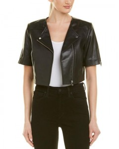 lamarque-Black-Kirsi-Leather-Crop-Jacket