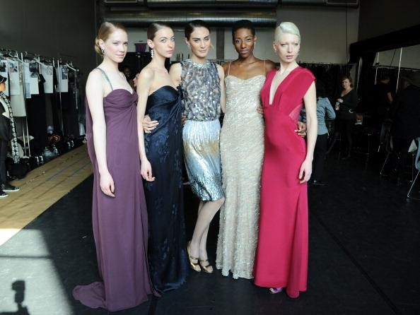 EXAMINER.COM / Rita Vinieris debuts her evening wear collection at New York Fashion Week